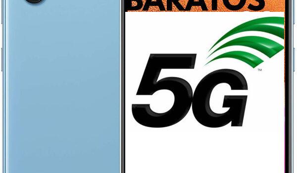 Moviles con 5G más baratos en 2021 de Samsung, Xiaomi, Poco, Realme, Oppo y otras marcas