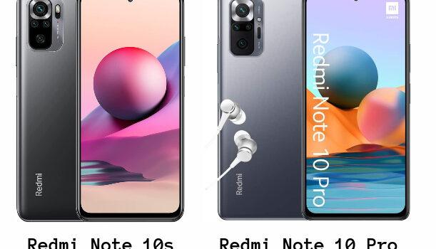 Redmi Note 10s vs Redmi Note 10 pro precio, diferencias, comparativa, opinión, cual es mejor comprar y características diferentes