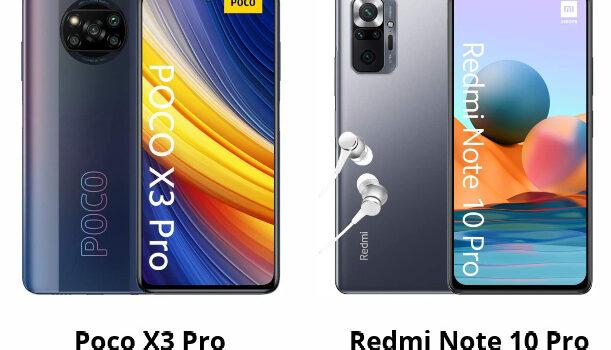 Comparativa Poco X3 Pro vs Redmi Note 10 Pro opinión, precio, cual es mejor comprar, diferencias en procesador, pantalla, cámara, batería y características