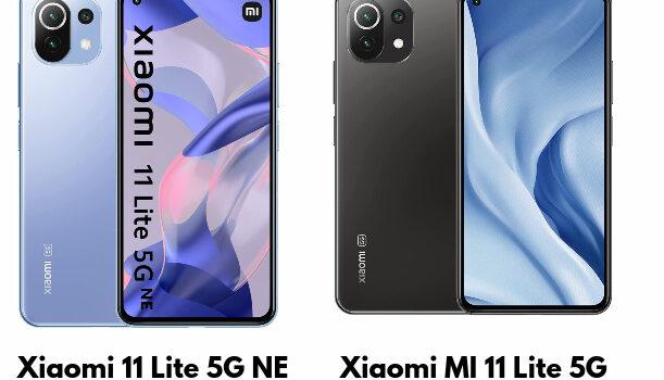 Xiaomi 11 Lite 5G NE vs Xiaomi Mi 11 Lite 5G precio, novedades, diferencias, mejoras y características, cual es mejor comprar