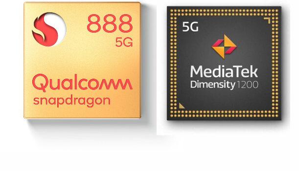 Snapdragon 888 vs Dimensity 1200 Ultra comparativa, potencia, antutu, benchmarks, rendimiento, eficiencia, fabricación